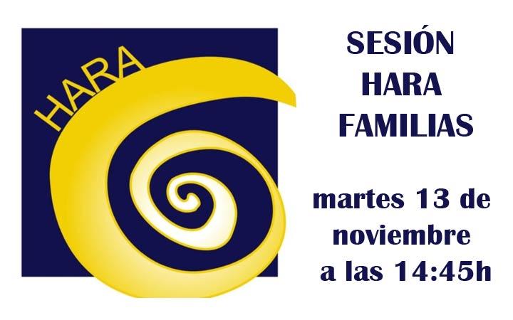 SESIÓN HARA FAMILIAS