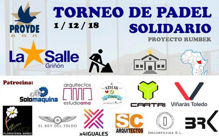 I TORNEO DE PADEL SOLIDARIO