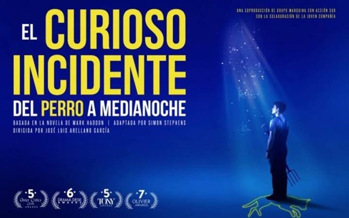Salida teatral en familia «EL CURIOSO INCIDENTE DEL PERRO A MEDIANOCHE»