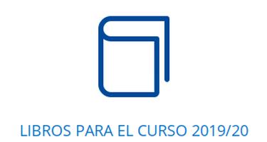 LIBROS PARA EL CURSO 2019-20