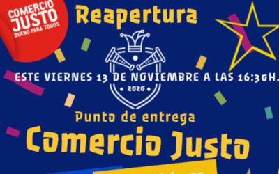 APERTURA DEL PUESTO DE COMERCIO JUSTO PROYDE