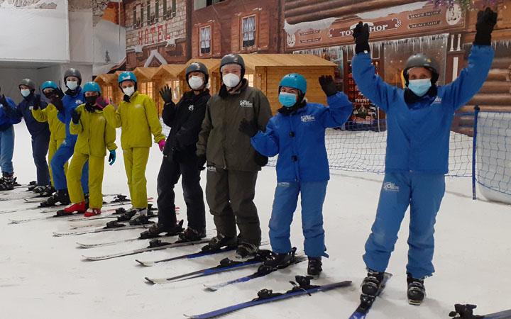 Esquí en Madrid SnowZone 1º Bach.